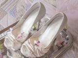 Brautschuhe für den Brautkleid